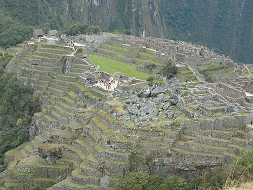 Bild: Machu Picchu, aufgenommen 2014 von Daniela Lasinger in Peru.