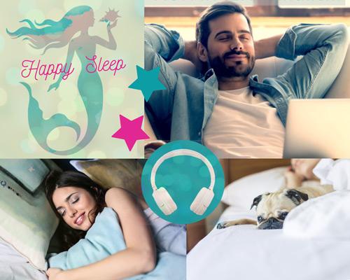Bild: Produkt-Cover für Hörbuch HAPPY SLEEP